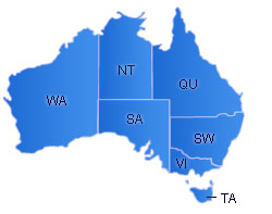 Australia Flash Map