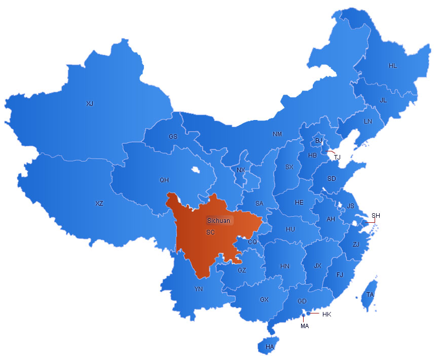 China Flash Map(2)