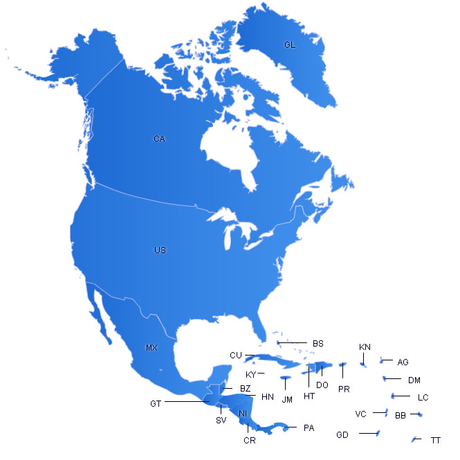 Northamerica maps free flash map driven by xml full customized northamerica flash map gumiabroncs