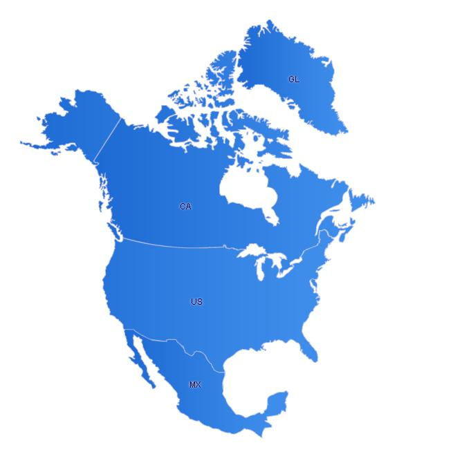 Free North America Map.Northamerica Maps Free Flash Map Driven By Xml Full Customized