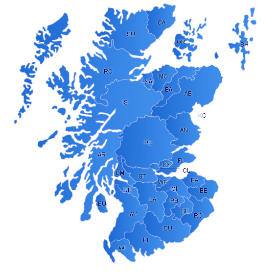 Scotland Flash Map