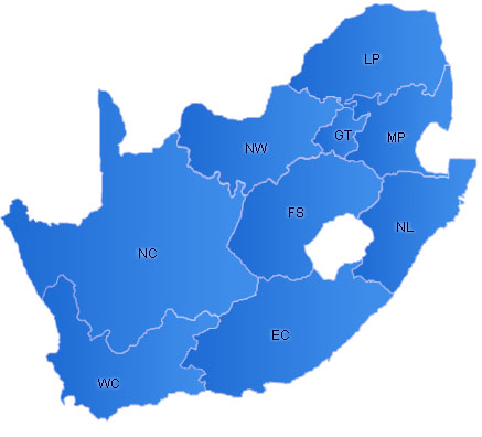 SouthAfrica Flash Map