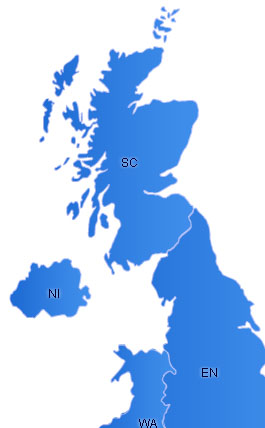 UK Flash Map